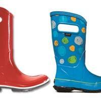 Bogs Gummistiefel und der Regen verliert seinen Schrecken.   Foto (c) bogs footwear