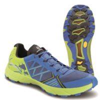 Einen guten Halt haben die Läufer mit dem Scarpa Spin. Der alpine Laufschuh ist auch mit Vibram Megagrip ausgerüstet.   foto (c) scarpa