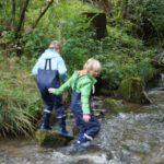 Ausflüge mit Kindern im Bayerischen Wald: In den Wellen vom Eisvogelsteig unterwegs