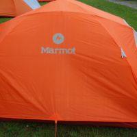 Das marmot zelt limelight 4 p Zelt überzeugt in seiner Gesamtheit: Moderates Gewicht, schnell aufgebaut und selbst stehend.   foto (c) kinderoutdoor.de