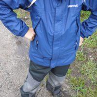 Bei einem kräftigen Wolkenbruch in den bayerischen Bergen haben wir die Marmot Regenjacke für Kinder Boy´s Precip Jacket getestet.   foto (c) kinderoutdoor.de