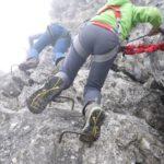 Kinder am Klettersteig: Spaß an der Staumauer und andere Reviere zum Kraxeln