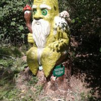 Wandern mit Kindern in Tirol durch Bibis Märchenwald. Im Juli 2017 eröffnet der zauberhafte Pfad.   foto (c) Tirol Werbung