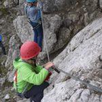 Klettersteig für Familien im Kleinwalsertal: Rauf auf über 2.000 Meter