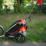 Thule Fahrradanhänger Chariot Cross 2 im Test: Für das ganze Jahr geeignet