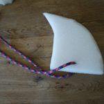 Haifischflosse basteln: In weniger als zehn Minuten klar zum Tauchen!