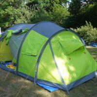 Ein Zelt pflegen braucht nur wenig Zeit und Aufwand. Dafür verlängert sich die Nutzungsdauer.  foto (c) kinderoutdoor.de
