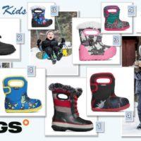 Bogs Kinder Winterstiefel und kalte Zehen sind Schnee von vorgestern.   foto (c) BOGS