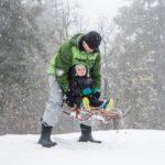 Bogs Gummistiefel und die ganze Familie ist für Regen sowie Kälte gerüstet