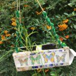 Upcycling mit Kindern: Ein Hochbeet aus Tetrapack