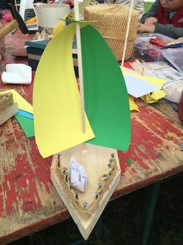 Kinder Basteln Ein Segelboot Kinderoutdoor Outdoor Erlebnisse