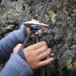 Klettersteige für Kinder: Die Familie hakt sich ein