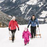 Winterurlaub mit Kindern in Südtirol: Schenna geht es kaum!