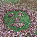 Land-Art im Herbst mit Kindern: Alles eine Laubensfrage