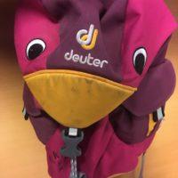 Der Kinderrucksack Kiki von Deuter überzeugt mit Design und Funktion.  foto (c) kinderoutdoor.de