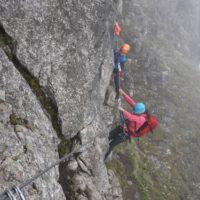 Klettersteig mit kindern  foto (c) kinderoutdoor.de
