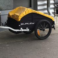Der Burley Nomad Lastenanhänger überzeugt im Alltag und auf längeren Radreisen.   foto (c) kinderoutdoor.de