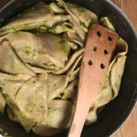 Outdoor Rezepte für Kinder; Schlutzkrapfen aus Südtirol.  foto (c) kinderoutdoor.de