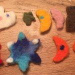Nadelfilzen mit Kindern: Last minute Geschenk schnell gebastelt