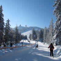 Skitouren mit kindern im Bayerischen Wald, da gehört auch eine Tour hinauf zum Großen Arber unbedingt dazu,   foto Rudi Simeth © Tourismusverband Ostbayern e.V.
