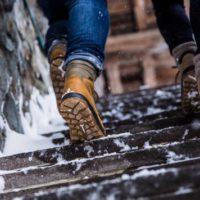 Beim Hanwag Anvik GTX sorgt die Michelin Sohle auf Schnee und Eis für einen guten Griff.   foto (c) hanwag / michelin