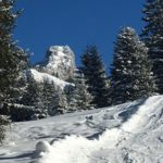 Skitour mit Kindern in Tirol: Auf´s Füssener Jöchle und auf der Piste abfahren
