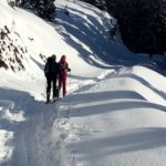 Skitour mit Kindern in Bayern: Abenteuerlicher Kolbensattel
