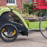 Burley Fahrradanhänger: Preiswerter, neuer Einsitzer Minnow für aktive Eltern