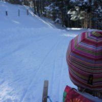 Rodeln mit Kindern in Oberbayern, da gibt es richtig anspruchsvolle Bahnen.   foto (c) kinderoutdoor.de