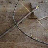 So sieht unser fertiger Steinzeitbohrer aus.   foto (c) kinderoutdoor.de