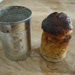 Outdoor Rezepte für Kinder: Brot am Lagerfeuer in der Dose backen