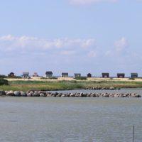 Jedes Badehäuschen an der Küste von Ærø ist etwas Besonderes.   foto (c) kinderoutdoor.de