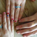 Ringe basteln mit Kindern: In weniger als zehn Minuten habt Ihr einen am Finger