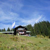 Das Berghaus Schwaben eignet sich als Ausgangsbasis für weitere Touren.   foto (c) kinderoutdoor.de