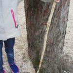 Schnitzen mit Kindern: Einen Wanderstock für kleine Bergsteiger