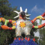Radtour für größere Kinder in der Maremma: Skulpturen, Steigungen und Steine