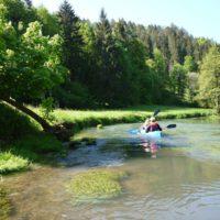 Auf der Naab geht es beschaulich zu. Der oberpfälzer Fluss ist ideal für Einsteiger.   foto (c) kinderoutdoor.de
