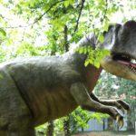 Kinder Outdoor Wanderungen zu Dinosauriern
