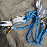 Test vom Petzl Klettersteigset Scorpio Vertigo: An manchen Stellen hakelts