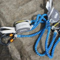 Test vom Petzl Klettersteigset Scorpio Vertigo.  foto (c) kinderoutdoor.de
