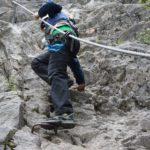 Klettersteige für Familien: Hier könnt Ihr Euch mit den Kindern einklinken