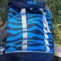 Ein Kinderrucksack für kleine Outdoorer ab fünf Jahre ist der Jack Wolfskin Jungle Gym Pack.   foto (c) kinderoutdoor.de