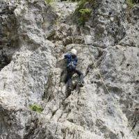 Kinder klettern mit Sicherheit   foto (c) kinderoutdoor.de