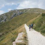 Bergsteigen mit Kindern im Trentino: Den Gardasee vom Monte Altissimo di Nago genießen