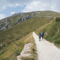 Bergsteigen mit Kindern im Trentino: Hier geht es auf den Monte Altissimo hinauf.   foto (c) kinderoutdoor.de