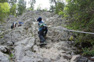 Klettersteig Kinder : Klettersteige für jedermann alpen guide