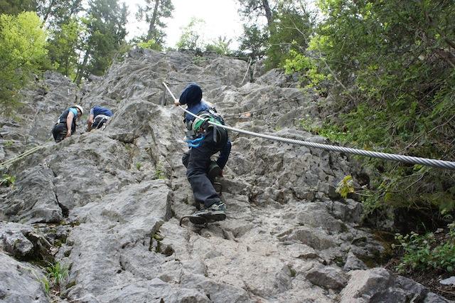 Klettersteig Unterstell : Aktiv im sommer am innerunterstellhof naturnser sonnenberg in