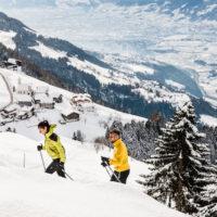 Skitour mit Kindern in Südtirol: Hinauf zur Kuhleitnhütte.  foto (c) kinderoutdoor.de