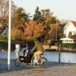 Lastenfahrrad für Kinder statt SUV: Babboe City im Test
