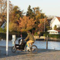 Lastenfahrrad für Kinder  Babboe City im Test: Hochwertig verarbeitet aber mit gewissen Tücken beim Fahren.   foto (c) kinderoutdoor.de
